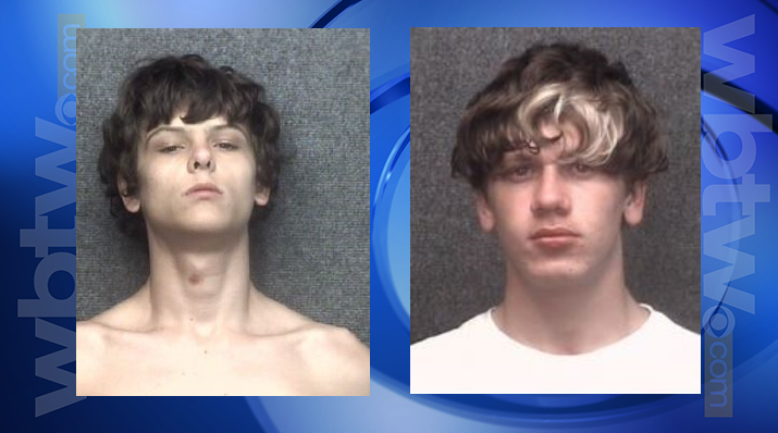 Bryson Pack (left) and Cody Alan Harding (right) | MBPD