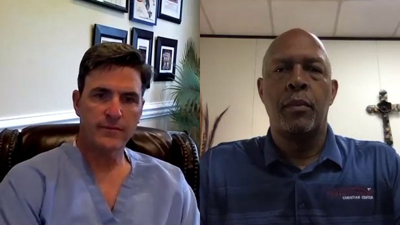Mission Greensboro founders Dr. Steve Lucey, Rev. Wayne Robinson discuss current racial tensions
