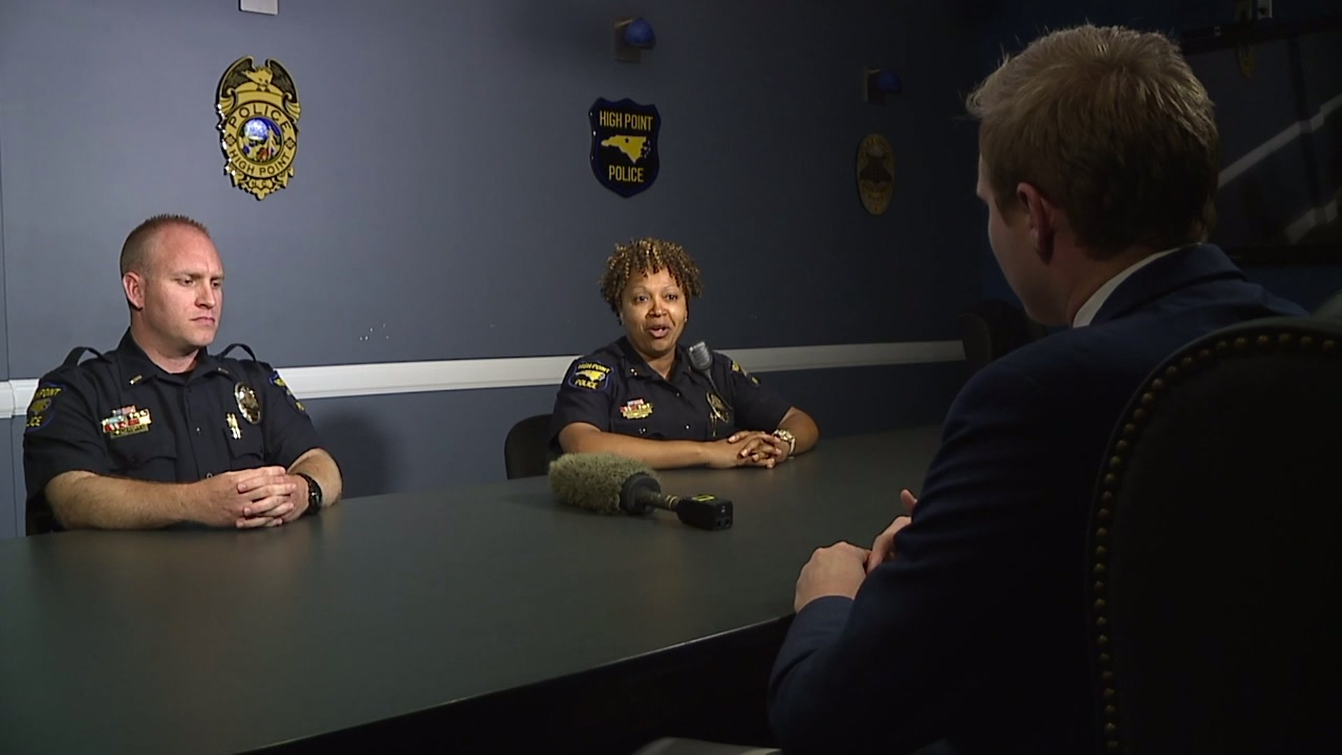 High Point officers reflect on national movement, and discuss conversations had within department