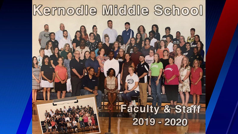 FOX8 Highlighting Heroes: Kernodle Middle School staff