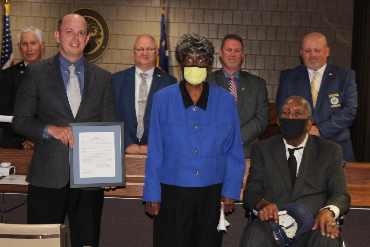 Rockingham County WWII veteran turning 100 saluted by county commissioners