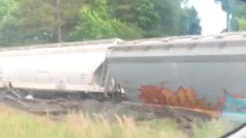 Train details in Randolph County