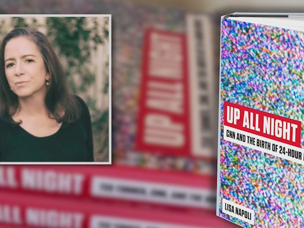 Woman chronicles the birth of the 24-hour news channel in new book