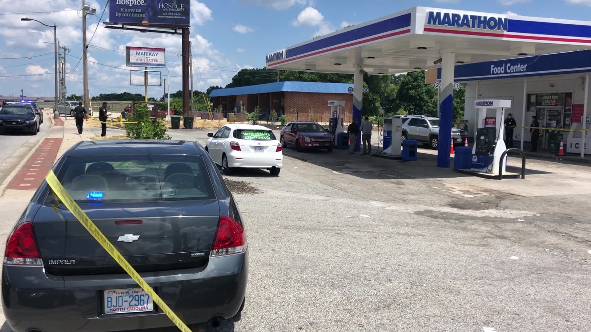 Police investigating after person shot in Greensboro