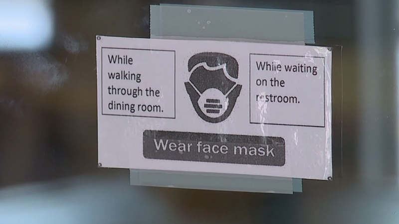 Some local restaurants say customers are not complying with the mask mandate