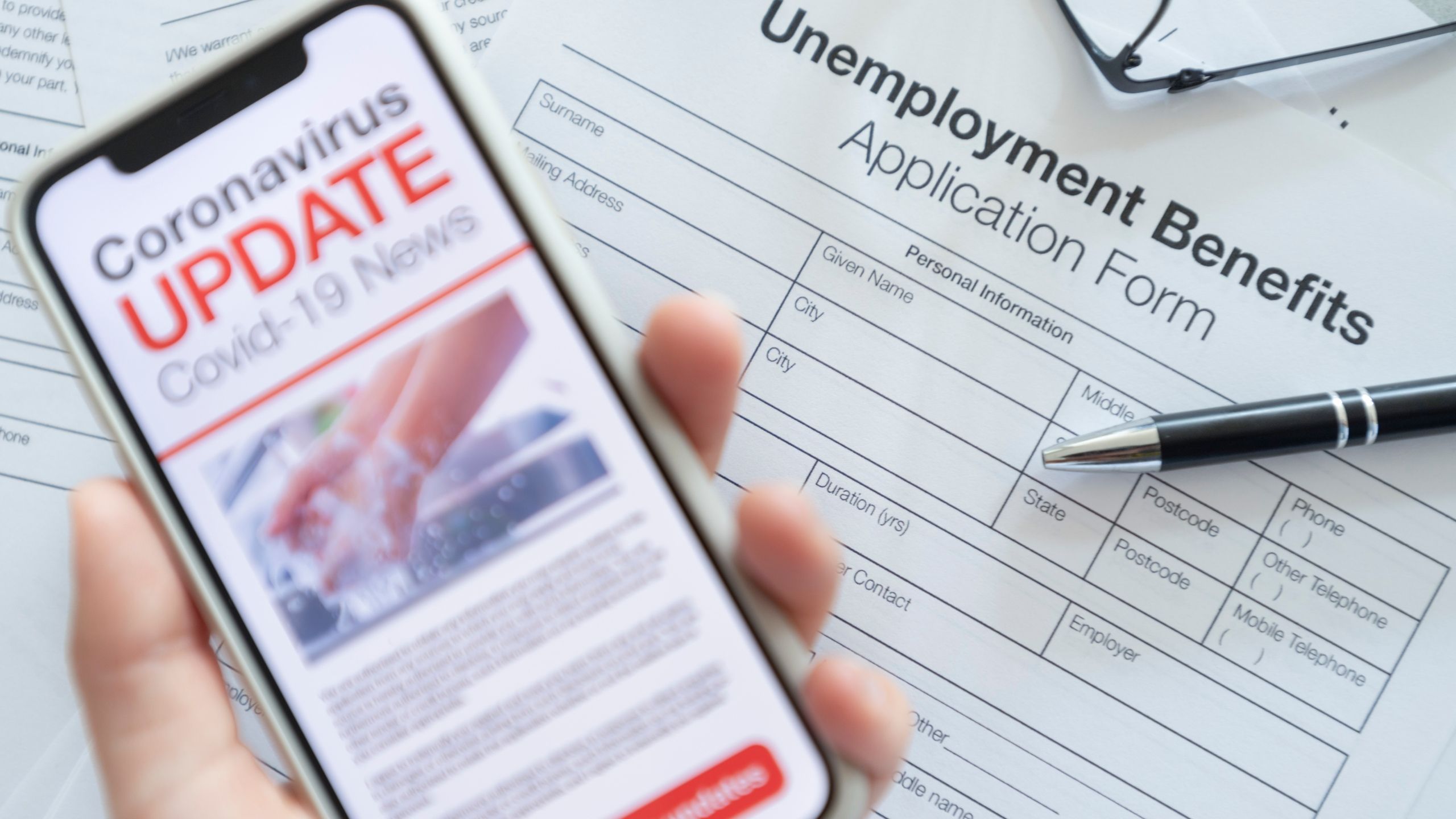 Coronavirus Unemployment Update (Getty Images)