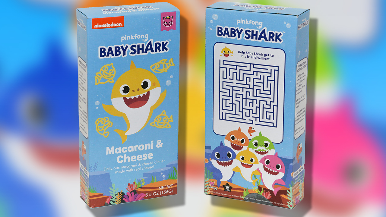 Baby Shark Mac and Cheese