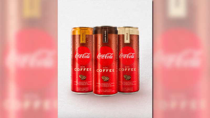 Coke with coffee will hit US stores next year (Coca-Cola)