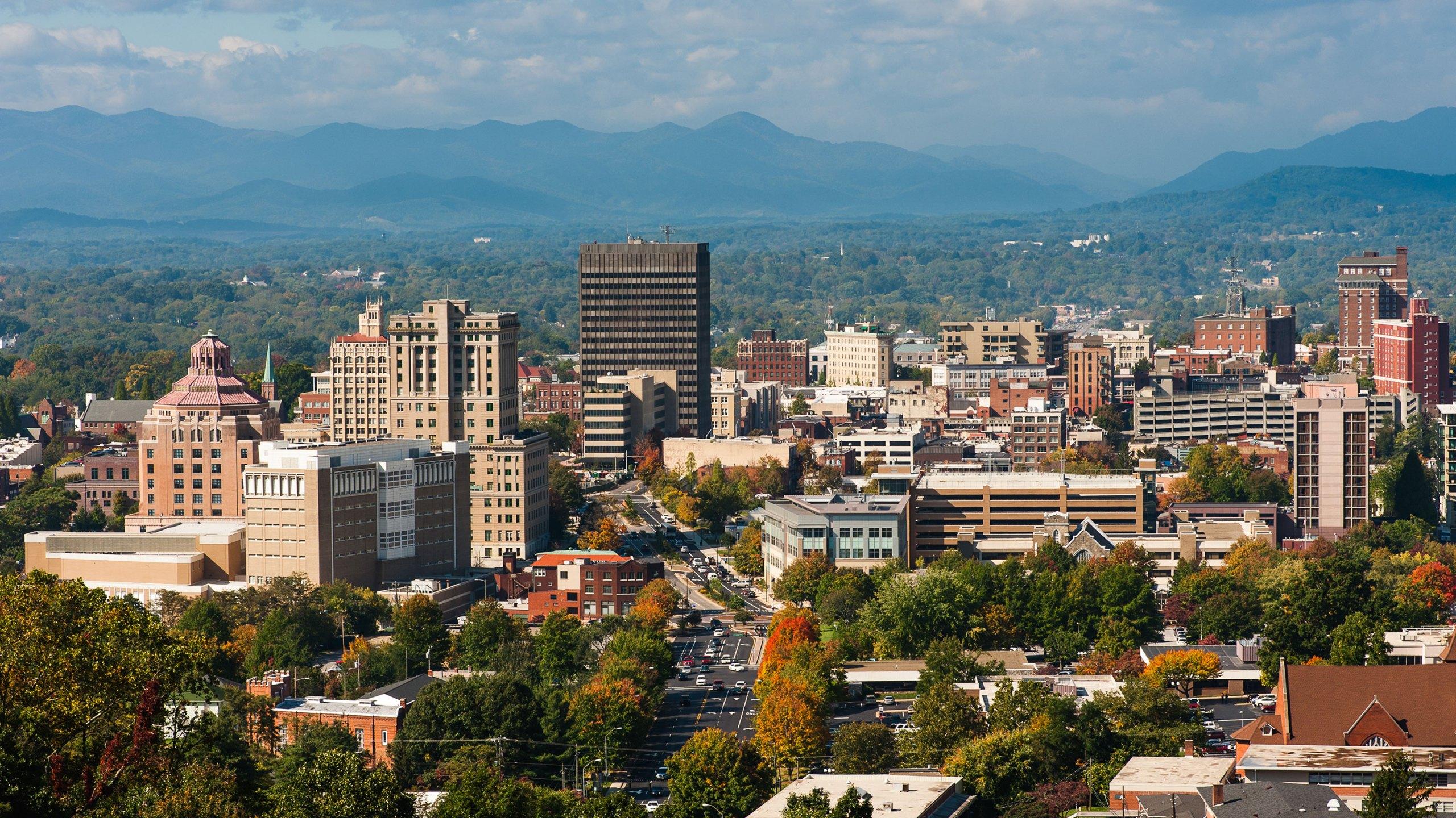 Asheville, North Carolina (Shutterstock)