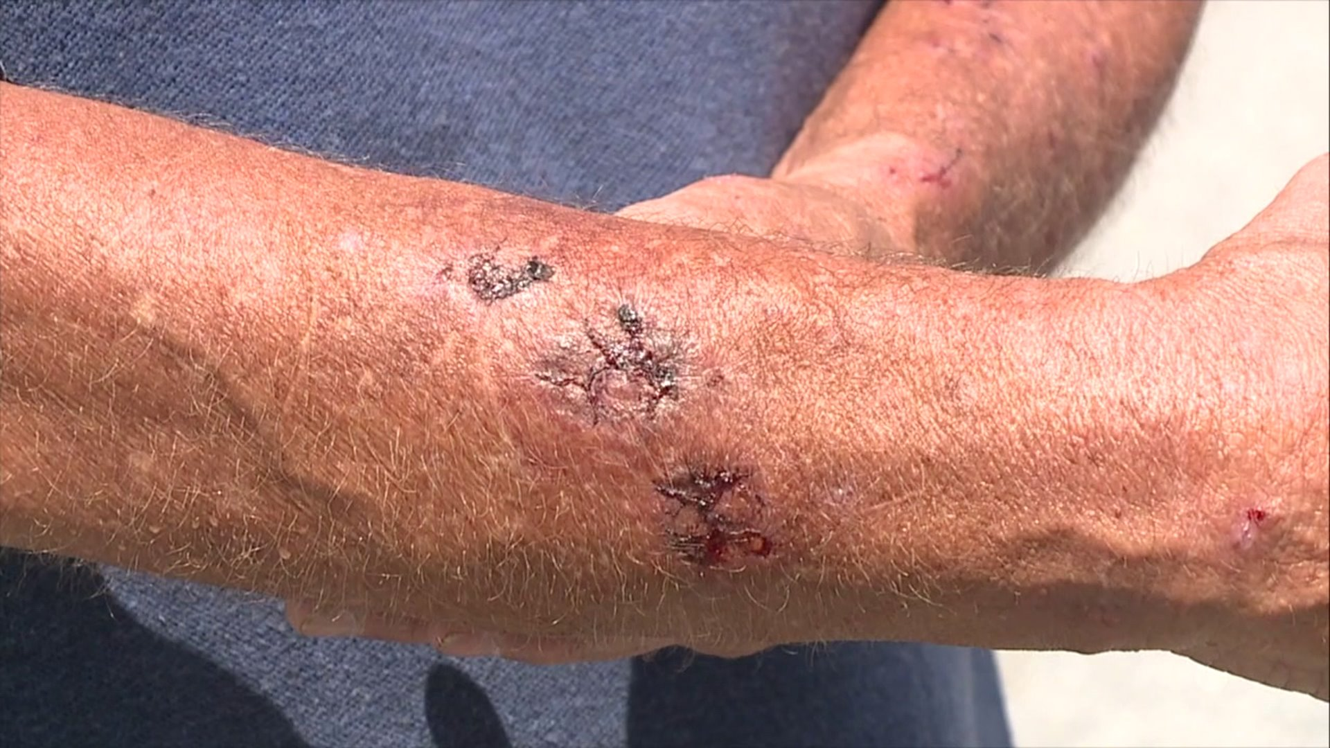 Victims talk about High Point paintball gun attacks