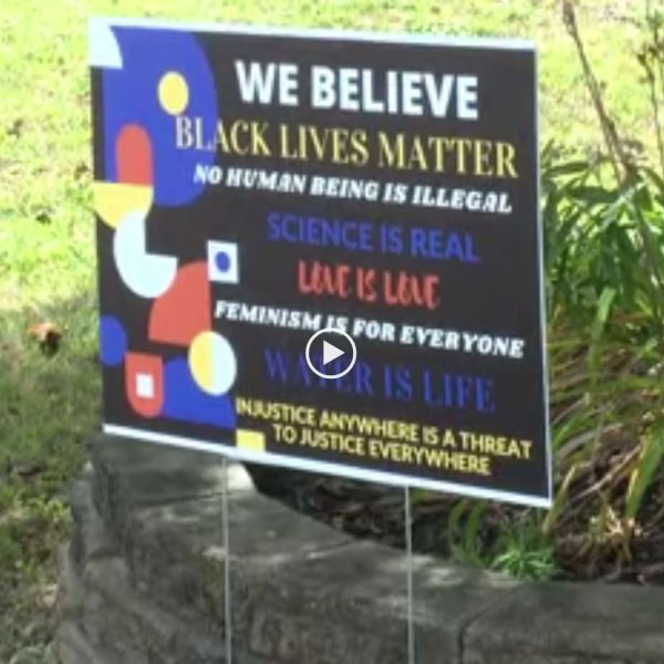Charlotte woman fighting HOA after being told to take down Black Lives Matter sign