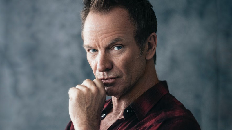 Sting (Photo courtesy of Greensboro Symphony Orchestra)