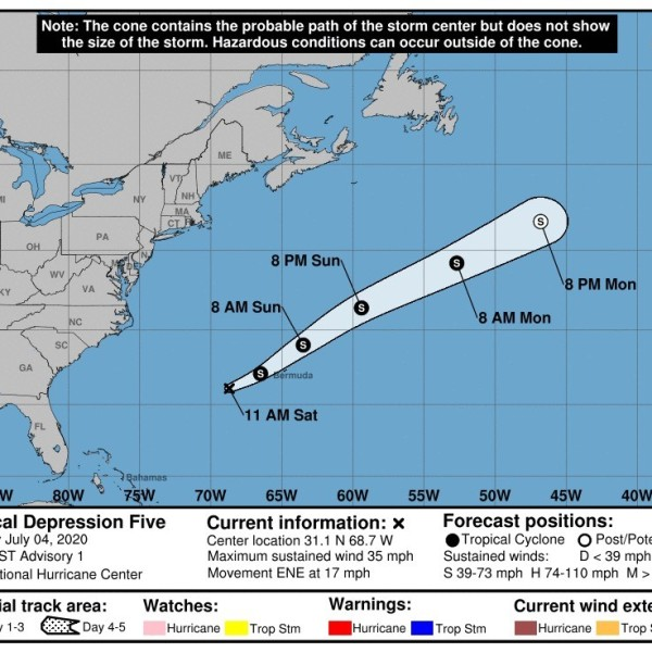 Tropical Depression Five