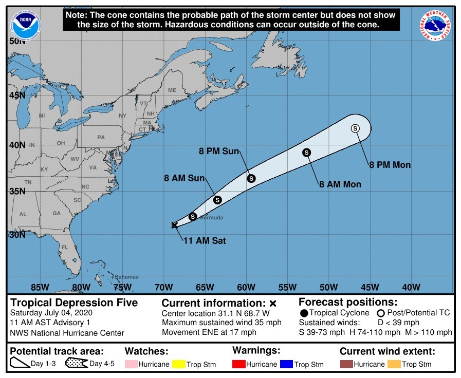Tropical Depression Five
