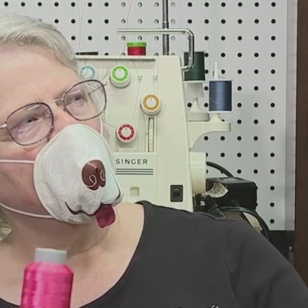 High Point woman has a nose for creative face masks designs