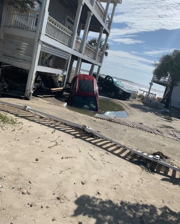 East Ocean Isle Beach area (Photo: Brunswick County Sheriff's Office)
