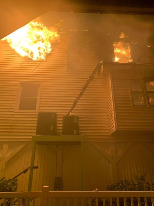Ocean Isle Beach structure fires. (Horry County Fire Rescue)