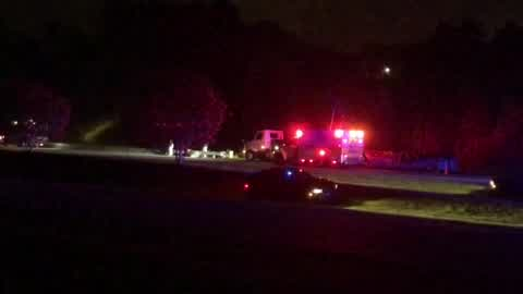 High Point police car hit during traffic stop on I-74