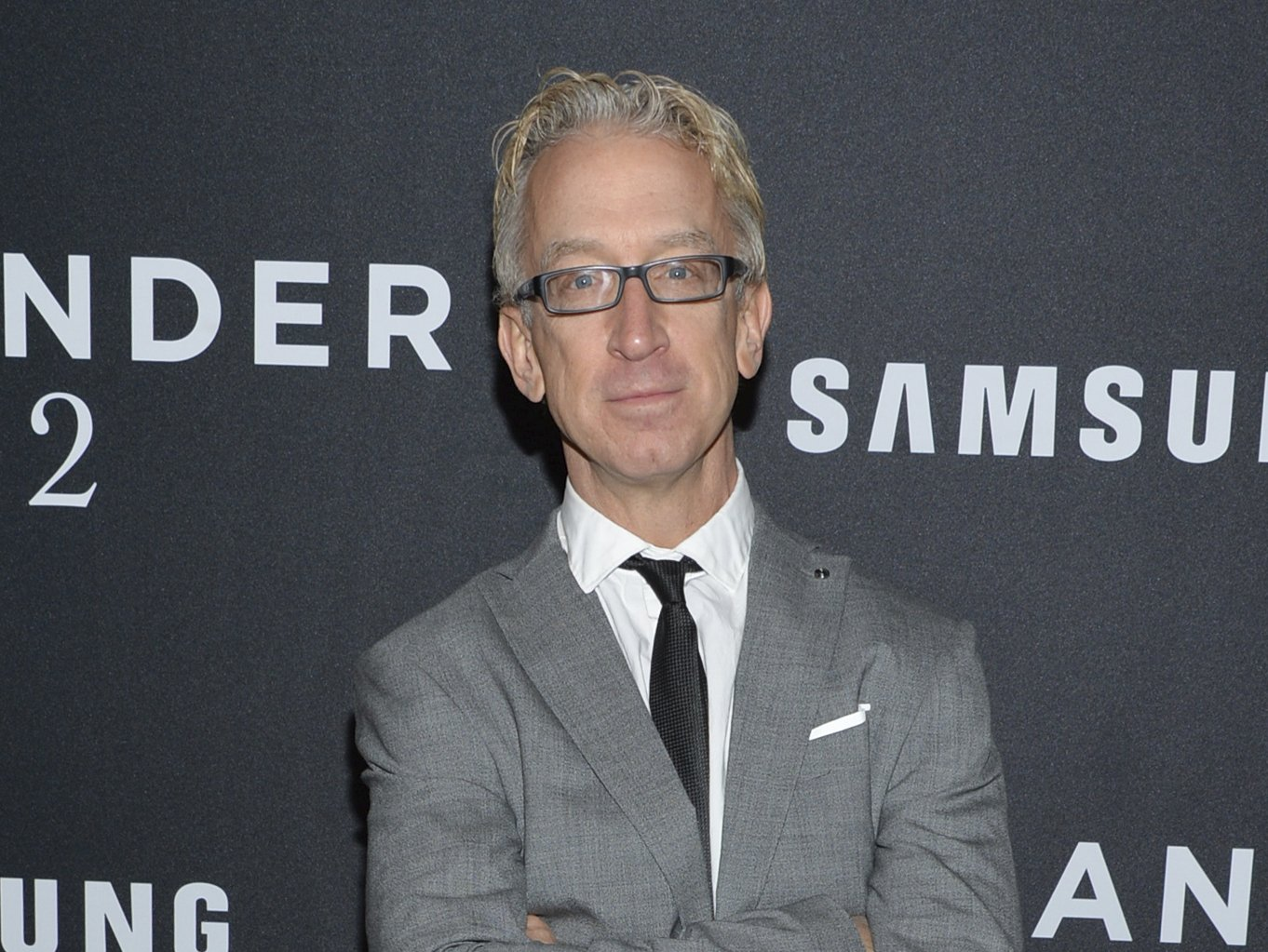 "FILE - This Feb. 9, 2016 file photo shows actor Andy Dick at the world premiere of ""Zoolander 2"" in New York. Dick has been charged with groping a driver from a ride-hailing service. Los Angeles County prosecutors say he is expected to be arraigned Friday, Oct. 4, 2019, on a charge of misdemeanor sexual battery. They allege he groped a driver in West Hollywood on April 12, 2018. (Photo by Evan Agostini/Invision/AP, File)"