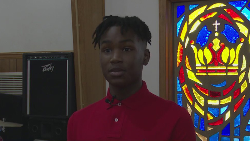 High Point teen inspires others with singing