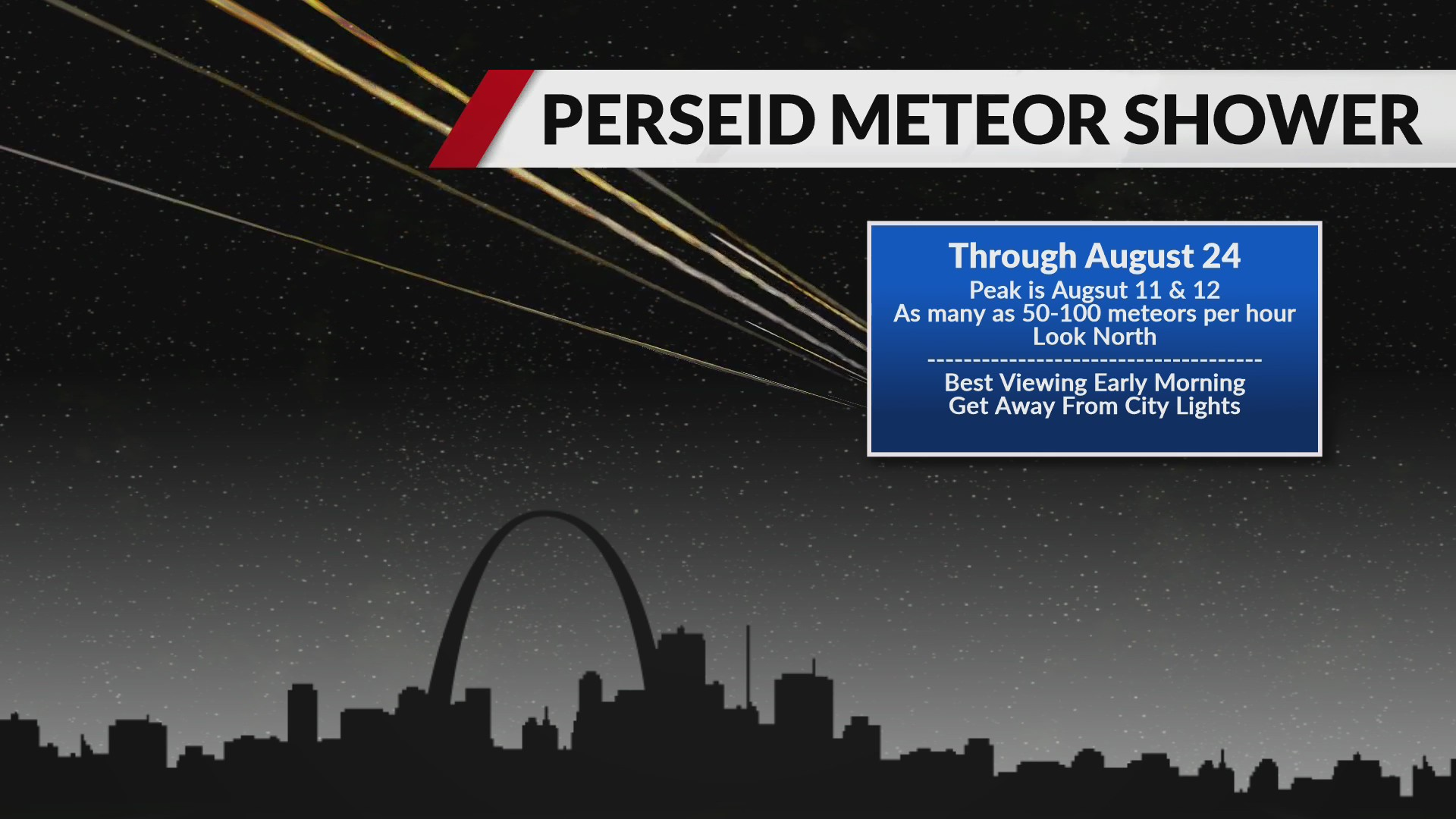 Perseid meteor shower promises big show for stargazers