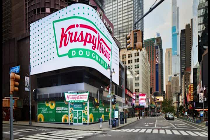 Krispy Kreme set to open NYC flagship store in with largest glaze waterfall