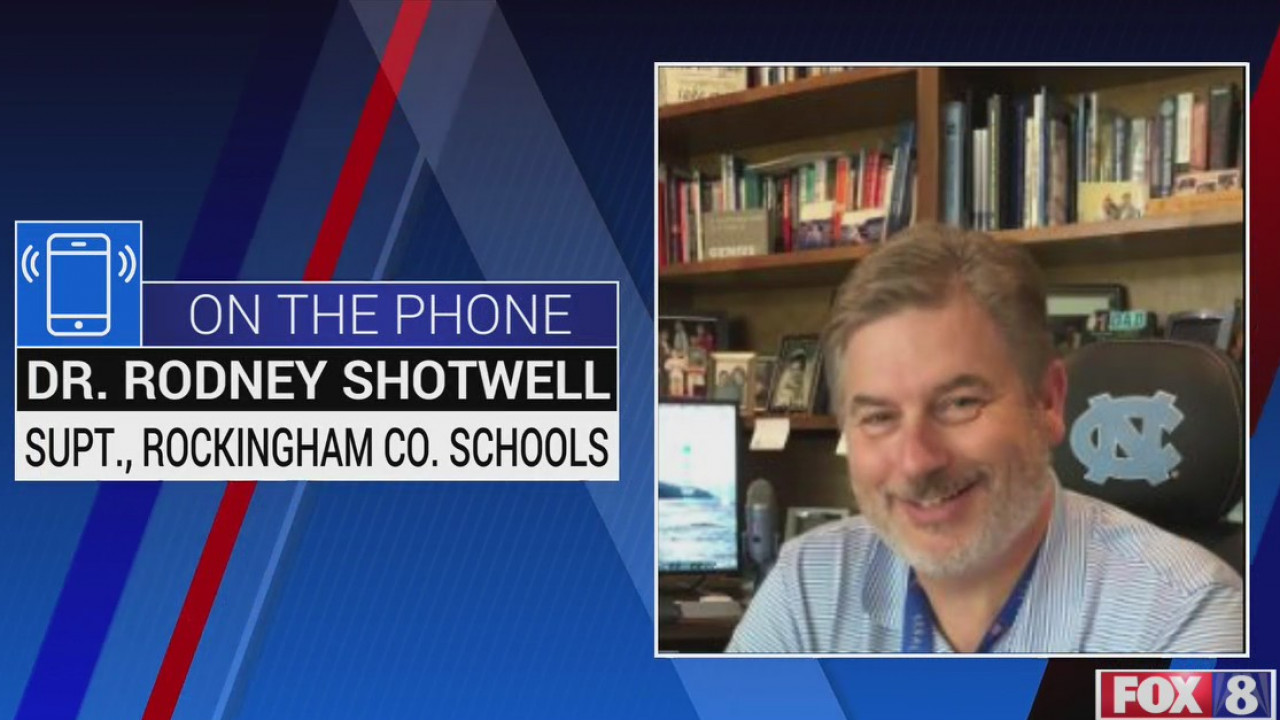 Rockingham County Schools superintendent talks what students can expect from virtual learning
