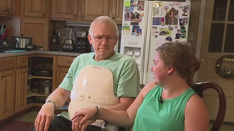 'It's a miracle that he survived': Lexington father relives moment his glider crashed