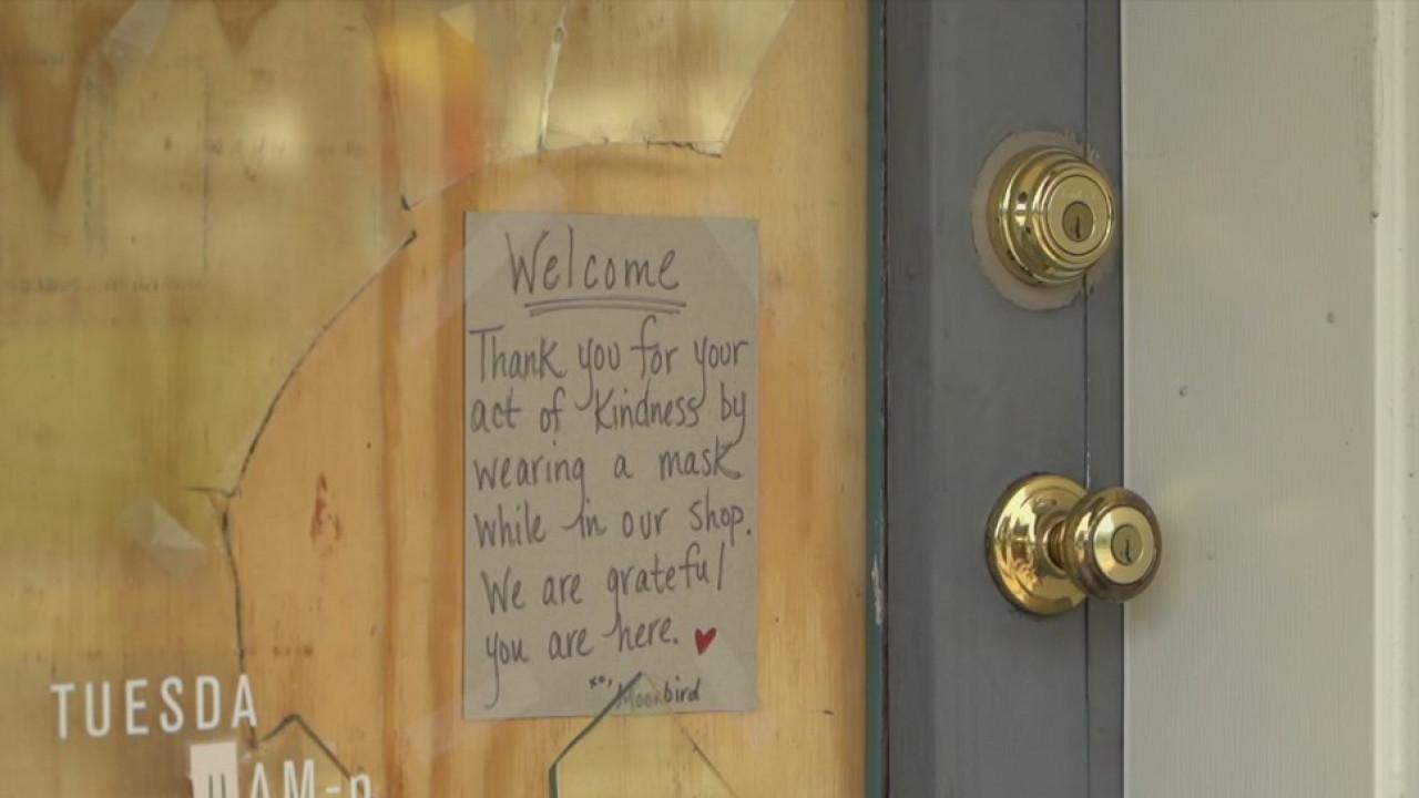 2 Greensboro businesses targetted in burglaries