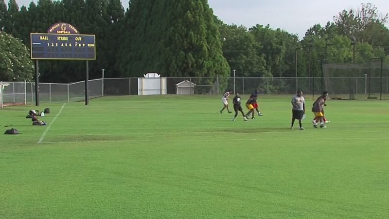 Forsyth County student-athletes participate in off-season workouts for first time since COVID-19 outbreak