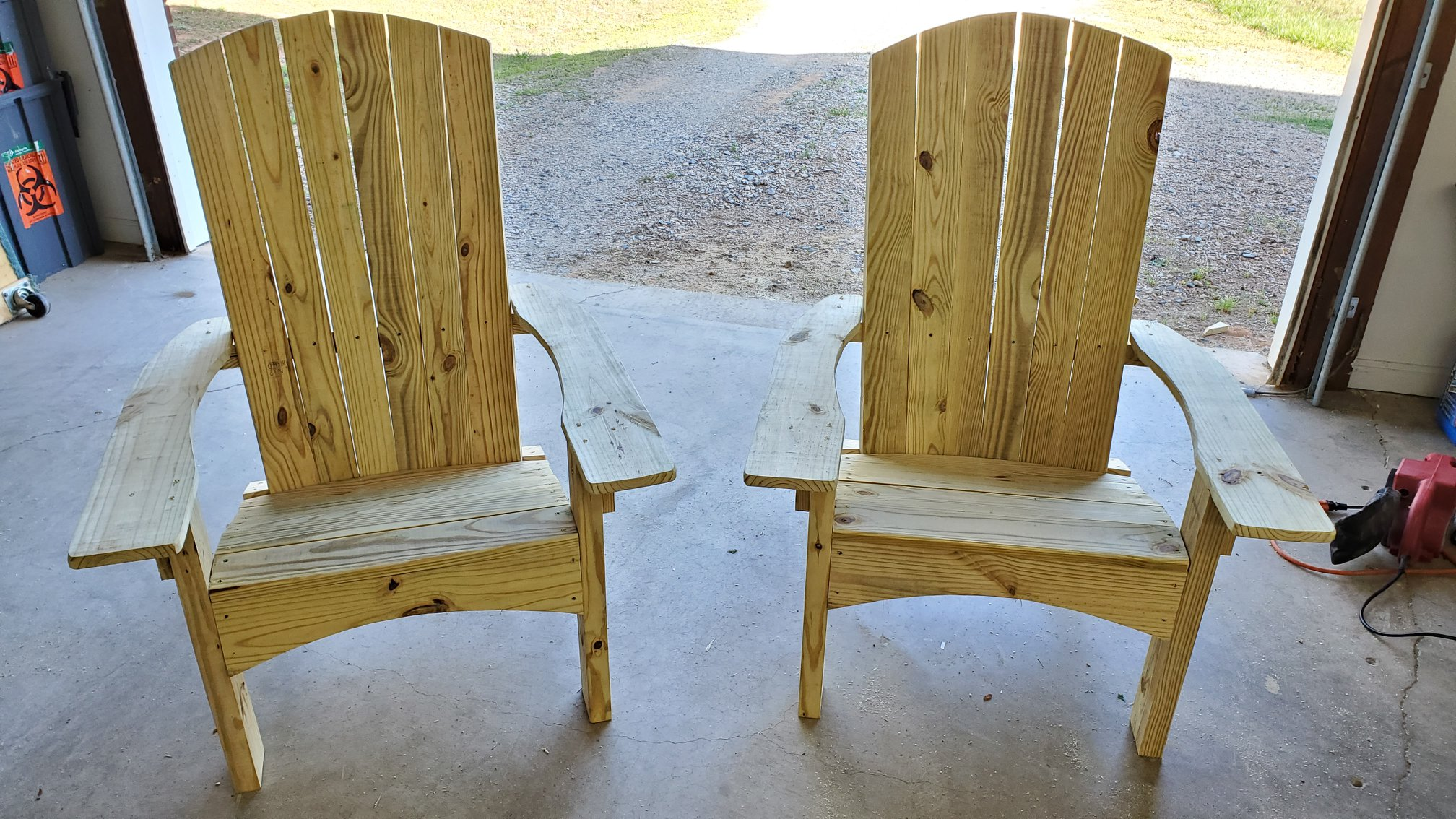 Local twin brothers start chair building business amid pandemic