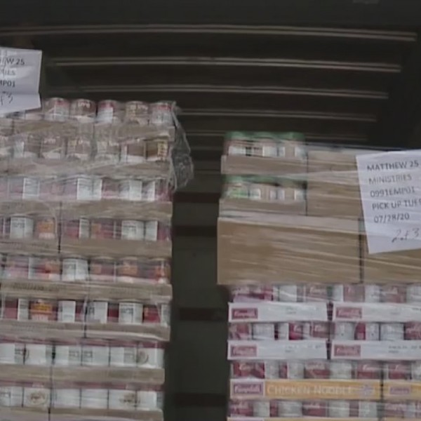 Second Harvest Food Bank sees increased need amid pandemic