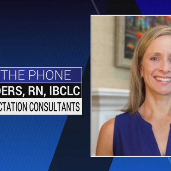 Certified Lactation Consultant Beth Sanders talks the benefits behind breastfeeding