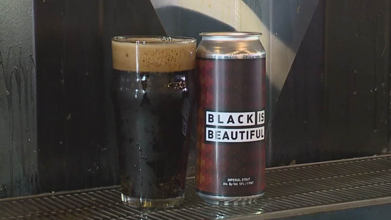 Black is Beautiful beer sold at local breweries promoting racial equality