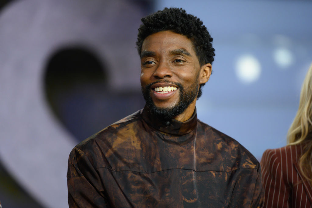 TODAY -- Pictured: Chadwick Boseman on Tuesday, November 19, 2019 -- (Photo by: Nathan Congleton/NBC/NBCU Photo Bank via Getty Images)