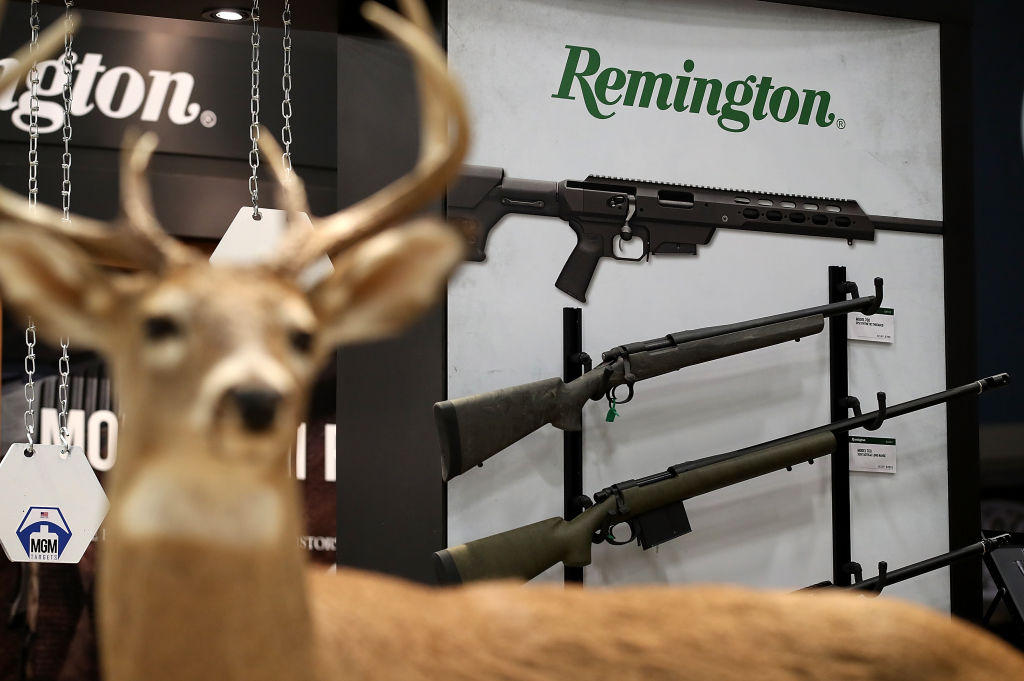 Remington display (Photo by Justin Sullivan/Getty Images)