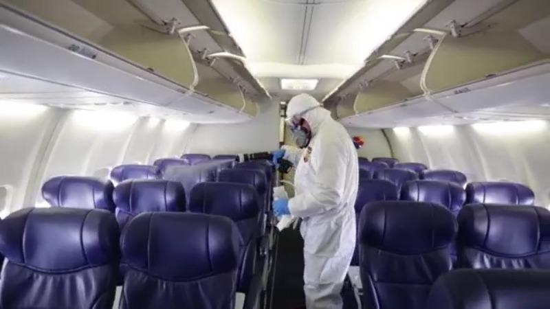 Southwest cleaning (CNN Newsource)