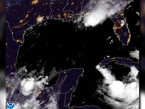 Laura expected to become hurricane Tuesday; Marco could bring 'life-threatening inundation' to Gulf Coast (National Hurricane Center)