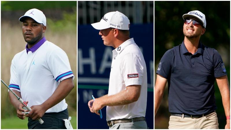 Harold Varner III, Tom Hoge and Roger Sloan (AP Photos/Chris Carlson)