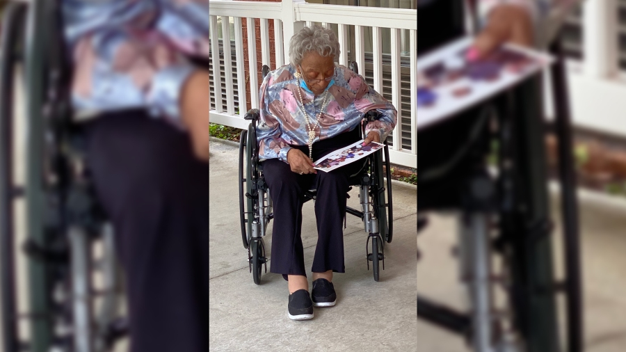 Retirement community shoots for 1,006 cards for woman turning 106