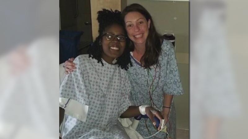 Triad mom, daughter's former teacher share inspirational kidney donation story