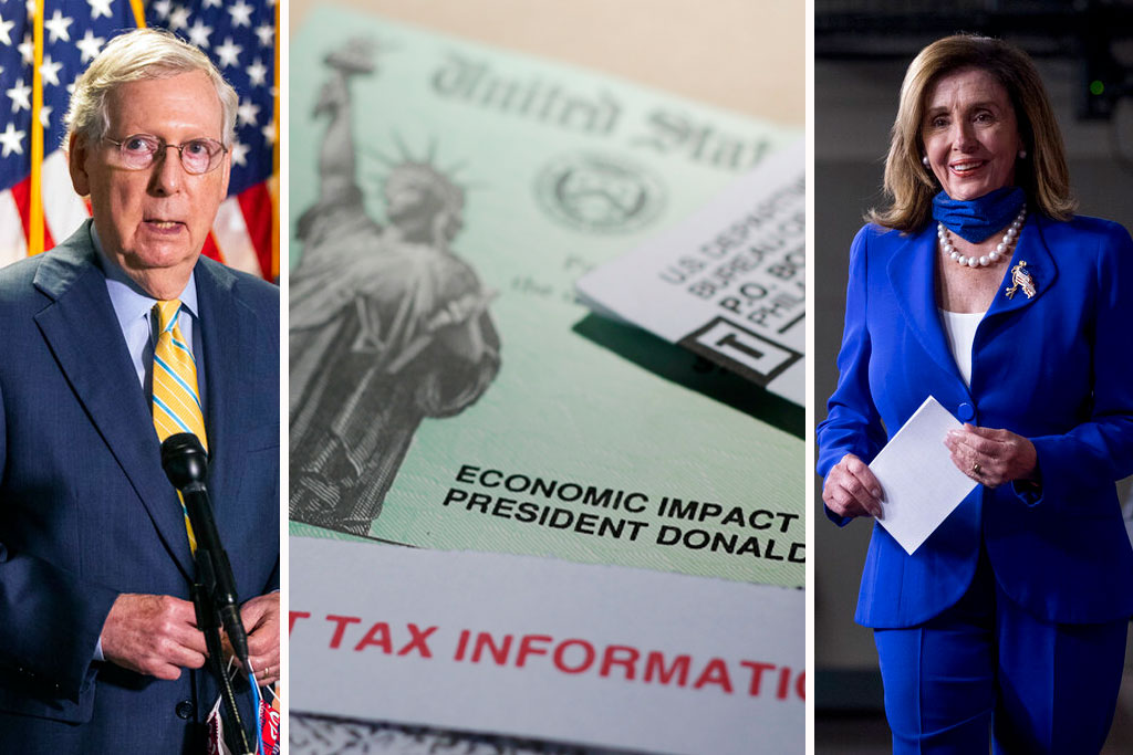 Second stimulus checks: Progress slow on virus relief bill with $1,200 payments