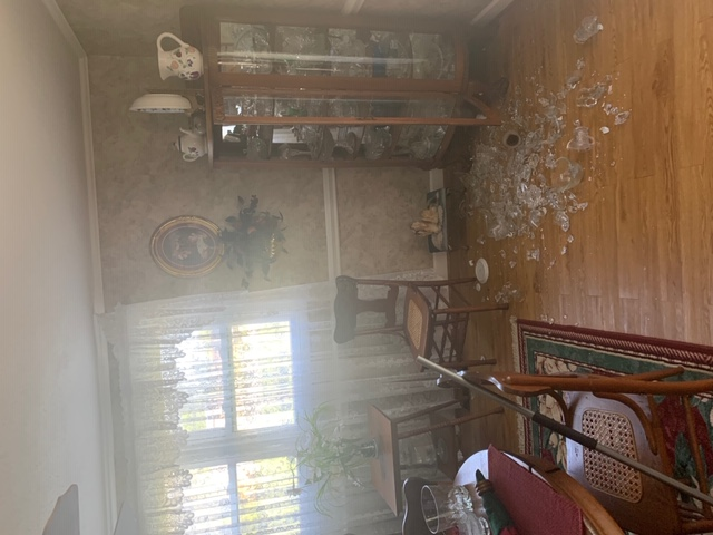 Betty Sue Poole, who lives near Pine Swamp Road in Sparta, shared photos of the damage in her home after a 5.1 magnitude earthquake hit the area. (Courtesy of Betty Sue Poole)