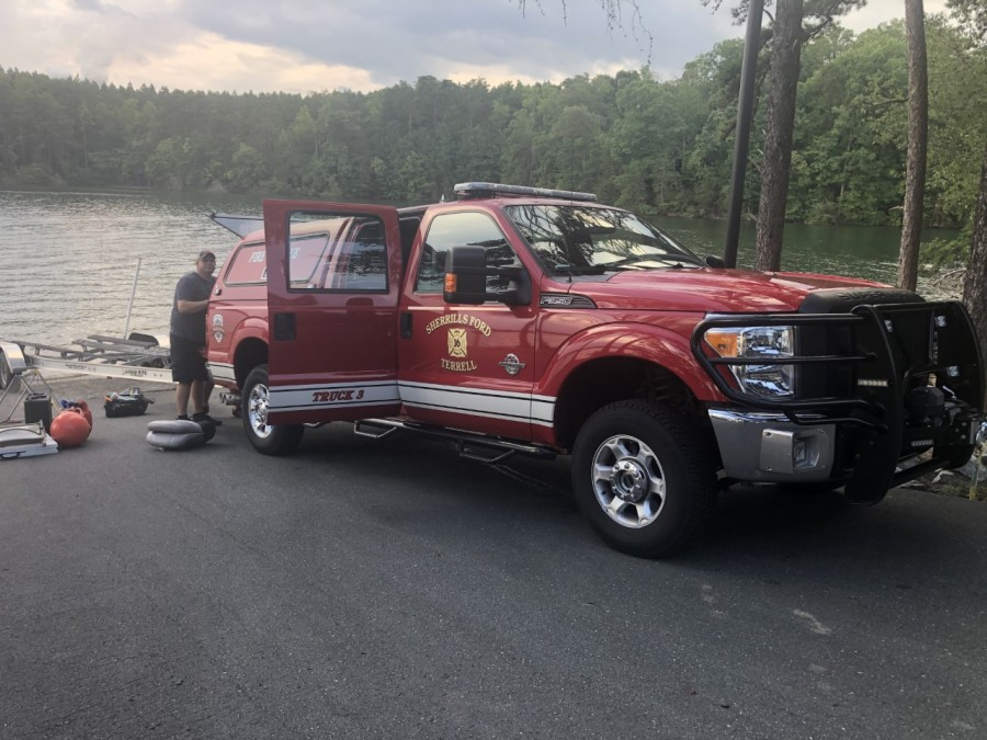 Officials searching for person who went missing at Belews Lake