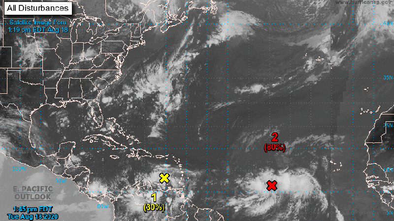8/18/2020 (National Hurricane Center)