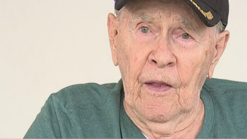 Birthday parade held for WWII veteran