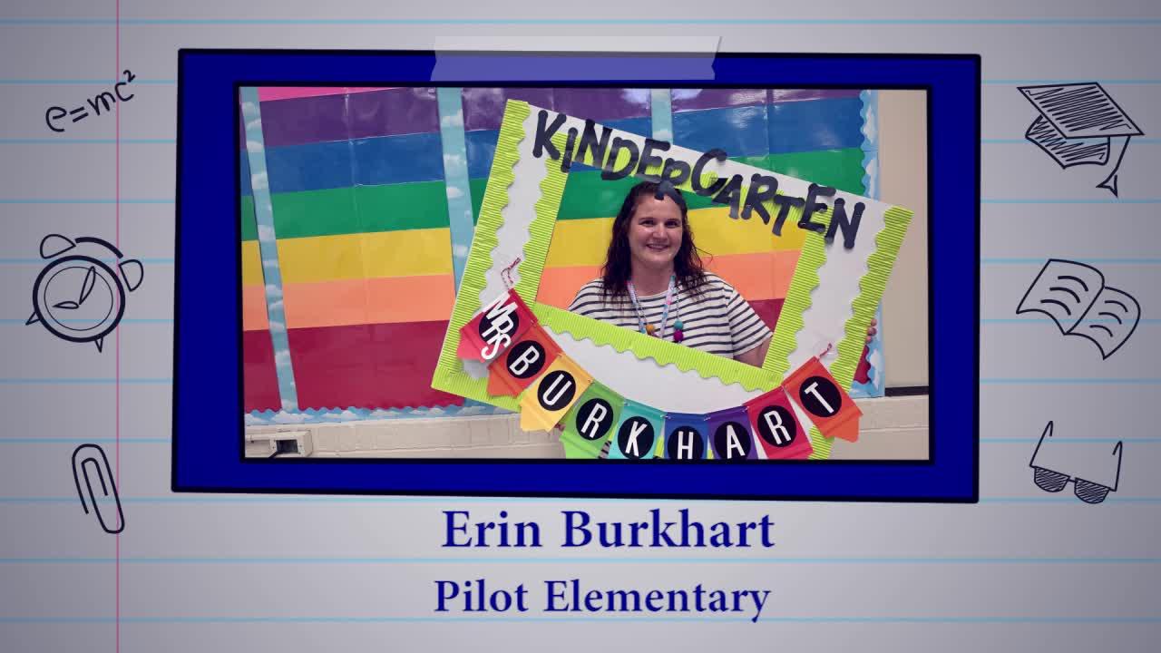 Educator of the Week: Erin Burkhart