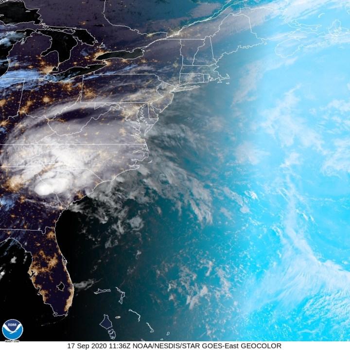 Tropical Depression Sally (National Hurricane Center)