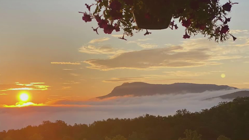 Woman creates Facebook page to show off stunning 'Porch Views' in Stokes County