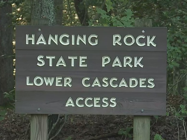 Suspect sought after park ranger hit by motorcycle at Hanging Rock State Park